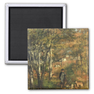 Pierre A Renoir | Jules Le Coeur in the Forest Magnet