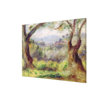 Pierre A Renoir | Landscape at Les Collettes Canvas Print