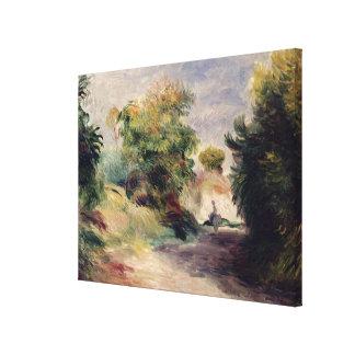 Pierre A Renoir   Landscape near Cagnes Canvas Print