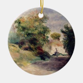 Pierre A Renoir | Landscape near Cagnes Christmas Ornament