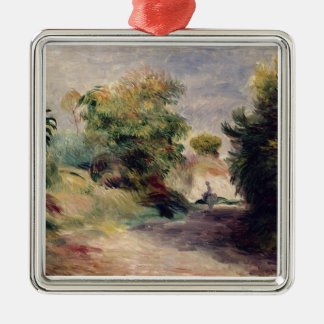 Pierre A Renoir | Landscape near Cagnes Christmas Ornament
