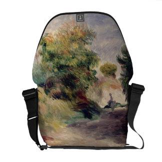Pierre A Renoir | Landscape near Cagnes Messenger Bag