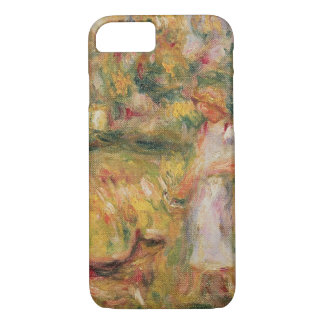 Pierre A Renoir   Landscape with the artist's wife iPhone 8/7 Case