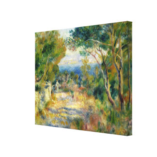 Pierre A Renoir | L'Estaque Canvas Print