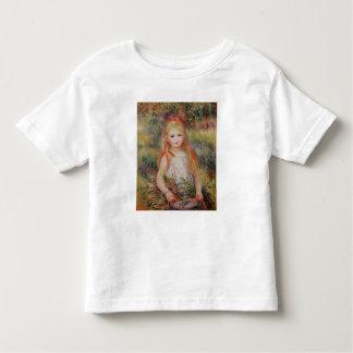 Pierre A Renoir | Little Girl Carrying Flowers Toddler T-Shirt