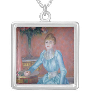 Pierre A Renoir | Madame de Bonnieres Silver Plated Necklace