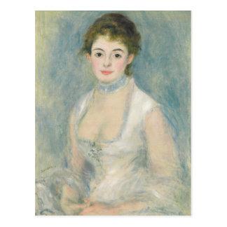 Pierre A Renoir | Madame Henriot Postcard