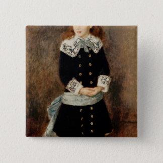 Pierre A Renoir | Marthe Berard 15 Cm Square Badge