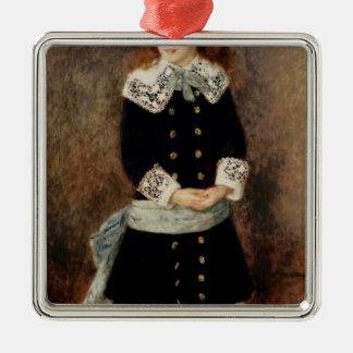 Pierre A Renoir | Marthe Berard Silver-Colored Square Decoration