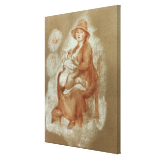 Pierre A Renoir | Maternity Canvas Print
