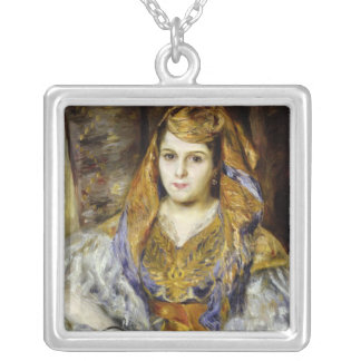 Pierre A Renoir | Mme. C. Stora in Algerian Dress Silver Plated Necklace
