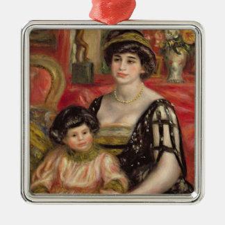 Pierre A Renoir | Mme Josse Bernheim-Jeune and Son Christmas Ornament