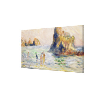 Pierre A Renoir | Moulin Huet Bay, Guernsey Canvas Print