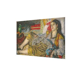 Pierre A Renoir | Olympia Canvas Print