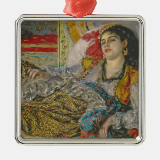 Pierre A Renoir | Olympia Silver-Colored Square Decoration