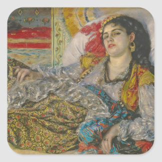 Pierre A Renoir   Olympia Square Sticker
