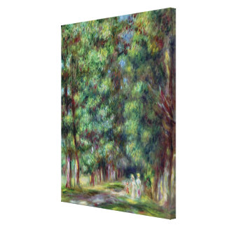 Pierre A Renoir   Path in a Wood Canvas Print