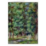 Pierre A Renoir   Path in a Wood Card