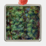 Pierre A Renoir   Path in a Wood Christmas Ornament