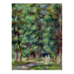 Pierre A Renoir   Path in a Wood Postcard