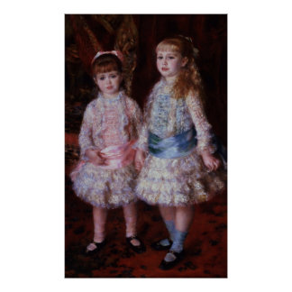 Pierre A Renoir | Pink and Blue Poster