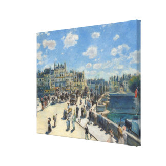 Pierre A Renoir | Pont Neuf, Paris Canvas Print