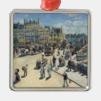 Pierre A Renoir | Pont Neuf, Paris Christmas Ornament