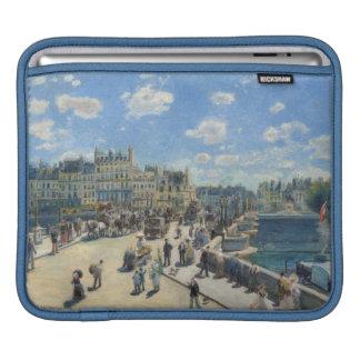 Pierre A Renoir | Pont Neuf, Paris iPad Sleeve