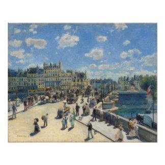 Pierre A Renoir | Pont Neuf, Paris Poster