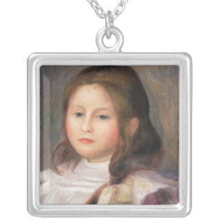 Pierre A Renoir | Portrait of a Child 2 Silver Plated Necklace