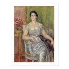 Pierre A Renoir | Portrait of A. Valliere-Merzbach Postcard