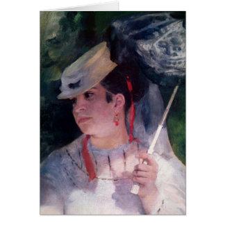 Pierre A Renoir | Portrait of Lise Card