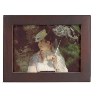 Pierre A Renoir | Portrait of Lise Memory Boxes