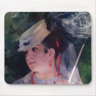Pierre A Renoir | Portrait of Lise Mouse Pad