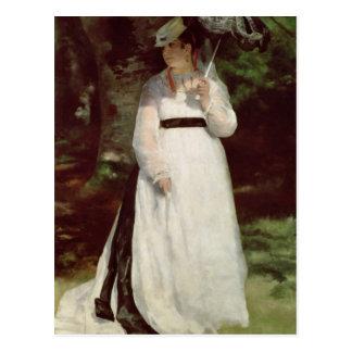Pierre A Renoir | Portrait of Lise Postcard
