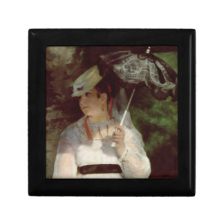 Pierre A Renoir | Portrait of Lise Small Square Gift Box