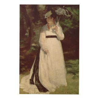 Pierre A Renoir | Portrait of Lise Wood Prints