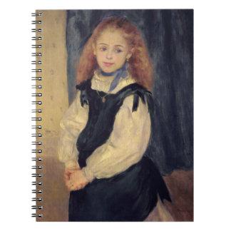 Pierre A Renoir | Portrait of Mademoiselle Legrand Spiral Notebook