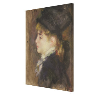 Pierre A Renoir | Portrait of Margot Canvas Print