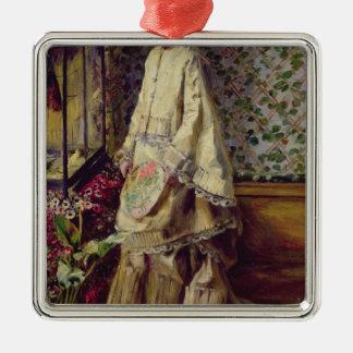 Pierre A Renoir | Portrait of Rapha Silver-Colored Square Decoration