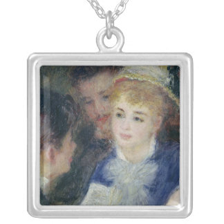 Pierre A Renoir | Reading the Role Silver Plated Necklace