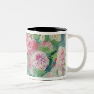Pierre A Renoir | Roses 2 Two-Tone Coffee Mug