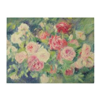 Pierre A Renoir | Roses 2 Wood Print