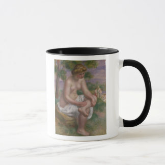 Pierre A Renoir | Seated Bather in a Landscape Mug