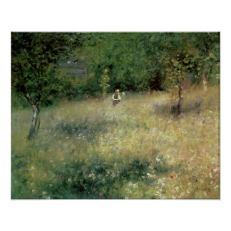 Pierre A Renoir | Spring at Chatou Poster