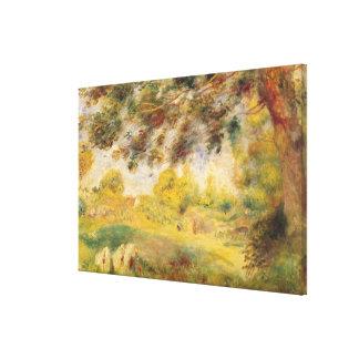 Pierre A Renoir | Spring Landscape Canvas Print
