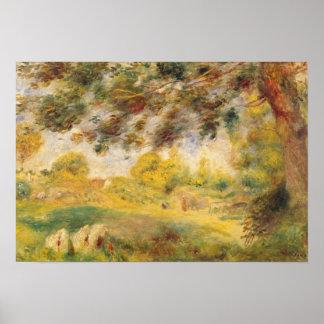 Pierre A Renoir   Spring Landscape Poster