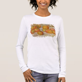 Pierre A Renoir | Still Life with Apples Long Sleeve T-Shirt