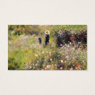 Pierre A Renoir | Summer Landscape Business Card