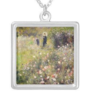 Pierre A Renoir | Summer Landscape Silver Plated Necklace